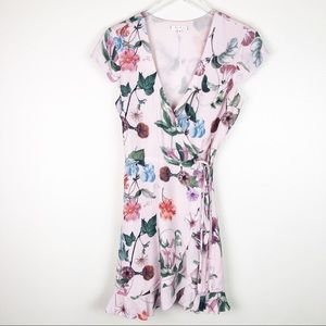 Willow & Clay l Floral Wrap Dress